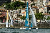 Oman Air Compete In The Extreme Sailing Series