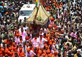 Chariot Of Lord Jagannath During Rathyatra