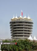 die vip (Turm Sakhir) auf Bahrain international circuit