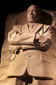 Martin Luther King Memorial noche Washington Dc