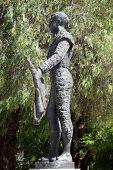 Famous Torero Statue. Seville, Spain