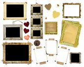 A Set Of Vintage Photo Frames