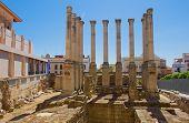 Templo romano, Córdoba, España