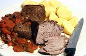 Pot Roast Serving Platter