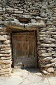Door In A Medieval Hut Borie poster
