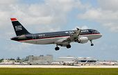 US Air Passenger Jet Airplane