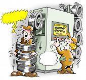 Tires Machine Goes Amok