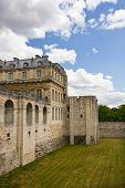 Vincennes Castle wall