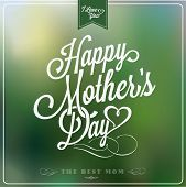 image of i love you mom  - Vintage Happy Mother - JPG