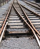 Railway Train Track.