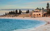 stock photo of cbd  - cottesloe beach the best beach in perth - JPG