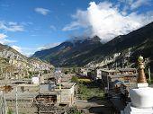 Buddhist Mountain Village