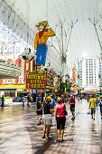 Fremont Street Experience An Attraction In Downtown Las Vegas
