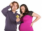 Confused Parents With Condom
