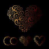 Maaswerk bruiloft Love hart