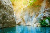 Beautiful Turquoise Lake
