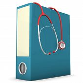 Stethoscope Folder
