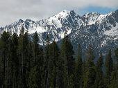 Idaho's Sawtooth Mountains