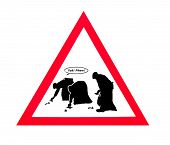 foto of dog poop  - A humorous sign to encourage people to clean up their dog poop - JPG