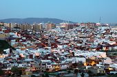 Algeciras At Dusk. Spain