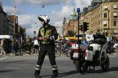 Danish Motorcycle Cop