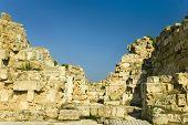 Roman Wall Detail, Salamis, Cyprus