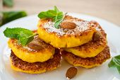 Kürbis Pfannkuchen