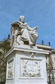 Monument To Wilhelm Von Humboldt In Berlin
