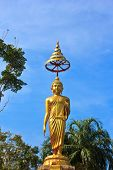 Buddha Statue In Temple Of The Wat Rhai Pa, Trat, Thailand