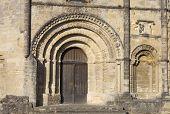 Saint Emilion ancient gothic church, Aquitaine, France