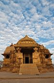 Chitragupta Temple, Western Temples Of Khajuraho. Unesco World Heritage Site.