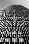 picture of prudential center  - Looking up at the Prudential Tower in Boston - JPG