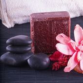 Soap, Stones And Flowers