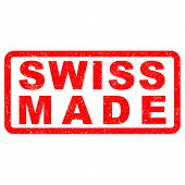 Stamp of Swiss made