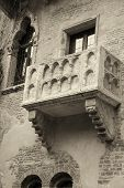 "picture of juliet  - famous balcony of Juliet from ""Romeo and Juliet"" William Shakespeare (Verona, Italy)