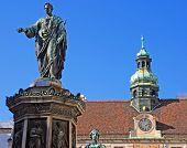 Monument With Emperor Franz I, Vienna, Hofburg
