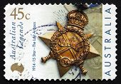 Postage Stamp Australia 2000 Star, The Last Anzacs