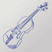 Vector Sketched Violin