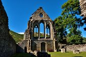 Valle Crucis Abbey at Llantysilio,Wales