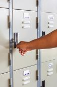 Hand Open Locker