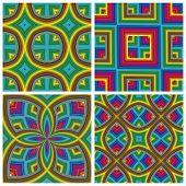 Psychedelic Pattern Set