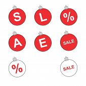 Christmas toys sale tags