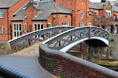 stock photo of west midlands  - Birmingham water canal network  - JPG