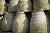 Handmade Bamboo Basketwork For Sticky Rice Steaming