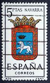 Arms Of Provincial Capitals Shows Navarra