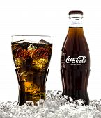 stock photo of coca-cola  - SWINDON UK  - JPG