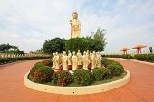 Standing Buddha Statues