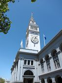Historic Ferry Building in San Francisco, California