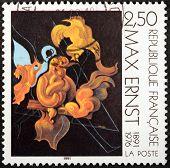 Max Ernst Stamp