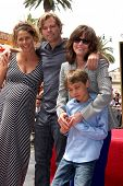 LOS ANGELES - MAY 5:  Sally Field, her son Eli Craig at the Sally Field Hollywood Walk of Fame Star